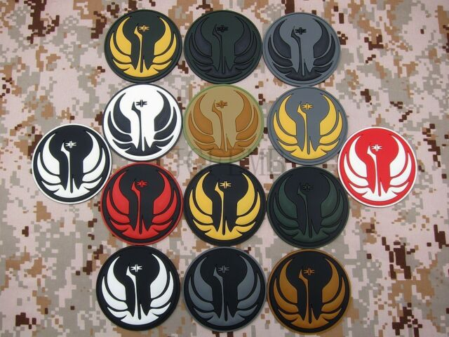 STAR WARS The Jedi Order Insignia Old Republic 3D PVC Patch