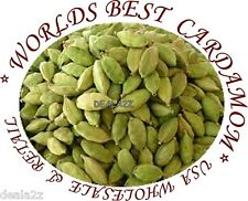 200g ( 7oz ) WHOLE GREEN CARDAMON PODS Cardamom Indian Arabic spices Food USA
