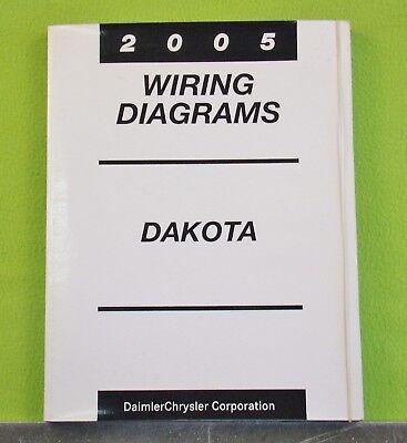 2005 Dodge DAKOTA Factory Wiring Diagrams Manual   eBayeBay