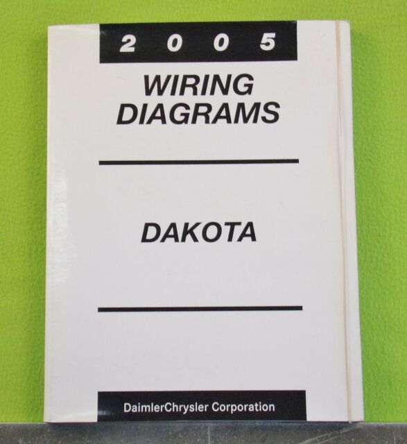 2005 Dodge Dakota Factory Wiring Diagrams Manual