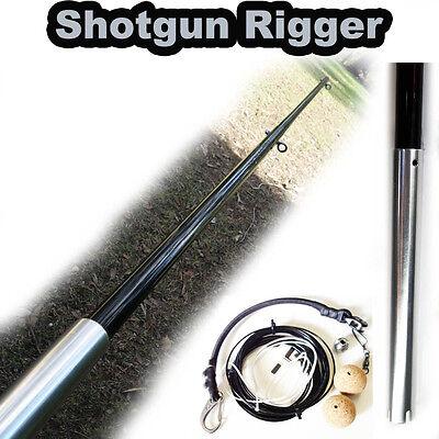 Pole Only Including Rigging Kit Carbon Fiber Center Rigger//Shotgun Rigger