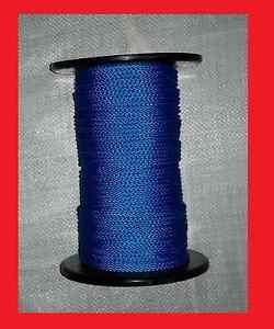 Flechtleine-3mm-blau-100m-Rolle-Tauwerk-PP-Reepschnur-Bruchlast-150kg