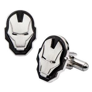di Marvel In Iron Avengers scatola ufficiali Man's in Comics Gemelli acciaio inossidabile qBnU07t7