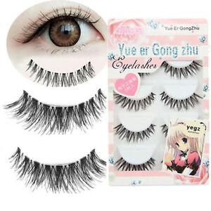 5-Pair-Lot-Crisscross-False-Long-Black-Eyelashes-Lashes-Volumino-Eye-Lashes