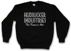 Hudsucker Proxy The Future Logo Pullover Sweatshirt Industries Sign Is Company rwz4r