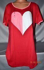 Victorias Secret Heart Sleepshirt Night Gown Pajamas NWT L