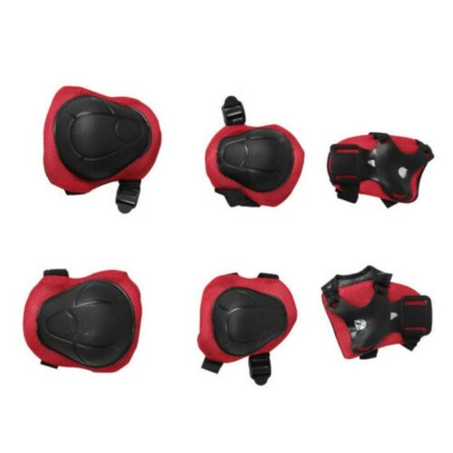 Kid Cycling Roller Skating Protective Gear Pad Guard Set for Knee Elbow Wrists