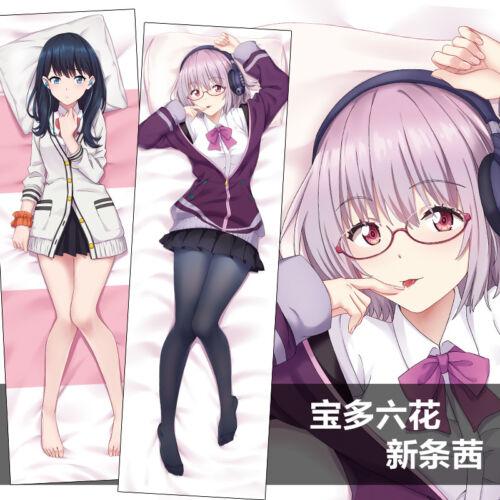 59/'/' Anime SSSS.GRIDMAN Rikka Akane Dakimakura Hugging Pillow Case Otaku#9-50