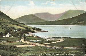 Ireland, Co Galway - Killary Bay Leenane Lawrence Postcard Unposted.
