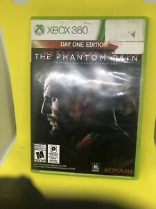 Metal Gear Solid V: The Phantom Pain W/ Map Xbox 360 Fast Shipping!