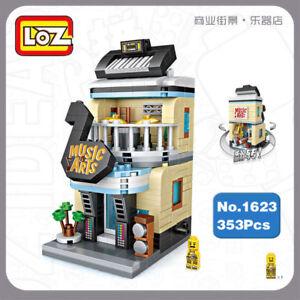 Bausteine Gebäude LOZ Spielzeug Street Cola Drink Getränkehändler 369PCS