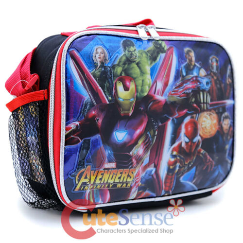 Marvel Avengers Infinity War School Lunch Bag Insulated Snack Box