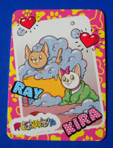 KIRA E RAY CARD DIRAMIX ME CONTRO TE 2018 n.118
