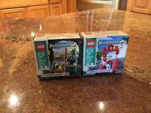 SEALED LEGO Kingdoms JESTER 7953 Retired 2010 Juggling stage red white gold lion