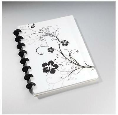 A4 Ruled Notebook Flower Design - 60 Sheets Included 100gsm