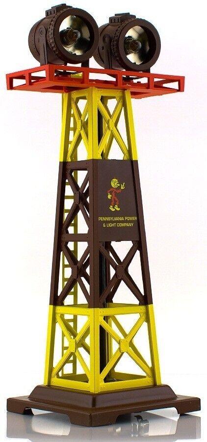 RMT Ready fatto i treni 9953376 Rail Rail Rail Yard Light Tower PP&L O Gauge modello i treni d7e3aa