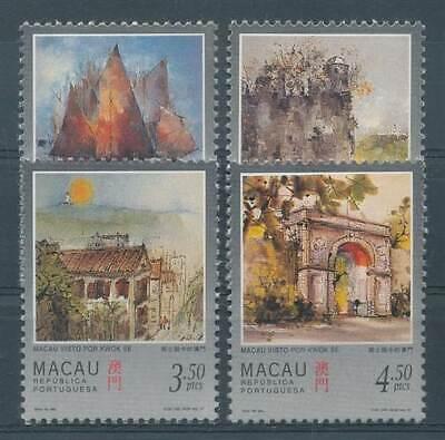 271888 Verarbeitung Macau Nr.899-902** Ansichten Exquisite In