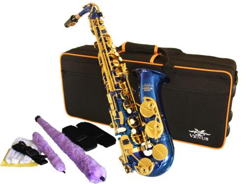 Non Stick Pads NEW Best Value! BLUE /& GOLD ALTO SAXOPHONE  Sax