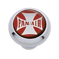 Pb Kenworth fan/air Deluxe Dash Knob - Maltese Cross Sticker