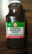 Halm's (Halms) Hawaiian BBQ Sauce 64 oz