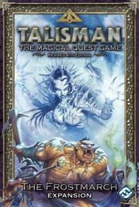 Talisman-The-Frostmarch-Expansion-Magical-Quest-Board-Game-Fantasy-Flight-4th-Ed
