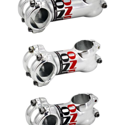 UNO mtb Stem 17degree Silver Road Bike Stem 31.8 70-130mm Bicycle Accessories