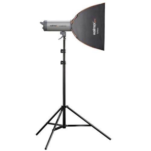 walimex pro Softbox PLUS Orange Line 40x40cm Broncolor
