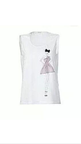 ausgefallenes APART Top Shirt weiß mit MOTIV NEU