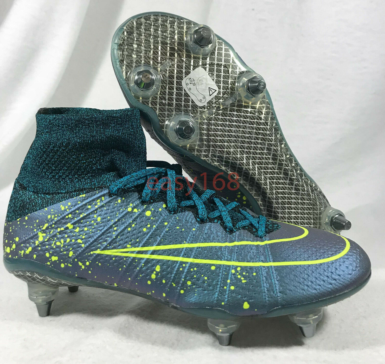 New Nike Mercurial Superfly SG Pro Sz 7 Mens Soccer 40 Price reduction Metal Cleats The latest discount shoes for men and women