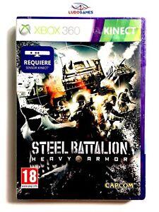Steel-Battalion-Xbox-360-Neu-Versiegelt-Verschlossen-Video-Spiel-Videogame-Spa