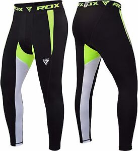 RDX MMA Compression Pants Running Exercise Base Layer Tight Cycling Sport CA