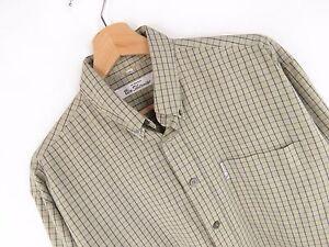 jy3438-Ben-Sherman-Camisa-Vintage-Top-Original-PREMIUM-DE-CUADROS-Descolorido