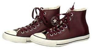 Converse All Star Unisex Maroon Leather