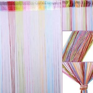 1-2m-Chic-Colorful-Door-Window-Panel-Room-Divider-String-Curtain-Partation-Door
