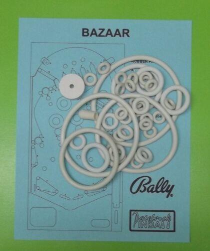 1966 Bally Bazaar pinball rubber ring kit