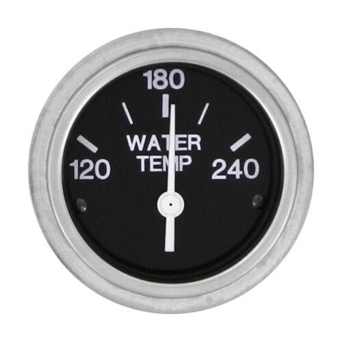Sierra Marine 80590P Heavy Duty Boat Water Temperature Gauge 120-240°F SW Black