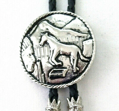 Horse head Bolo Bootlace tie Country /& Western Cowboy Line Dancing BT025