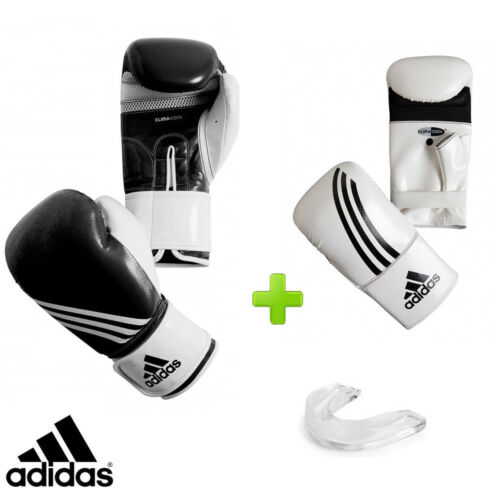 New! adidas Fitness Boxing Gloves Set! Includes Bag Gloves & Mouthguard