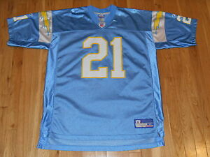 0a6f2ac56 Reebok On Field LADAINIAN TOMLINSON Blue SAN DIEGO CHARGERS NFL Team ...