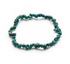 Image Is Loading Turquoise Bracelets Gemstones Nugget Beads Jewelry Stretch 7