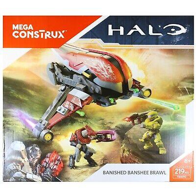 Mega Construx Halo Banished Banshee Brawl 219 Pieces NEW