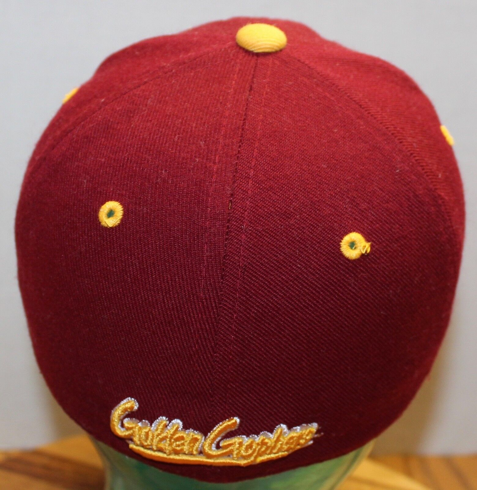 online store 88295 36996 ... germany zephyr minnesota golden gophers hat hat hat maroon fitted size  7 in very good cond ...