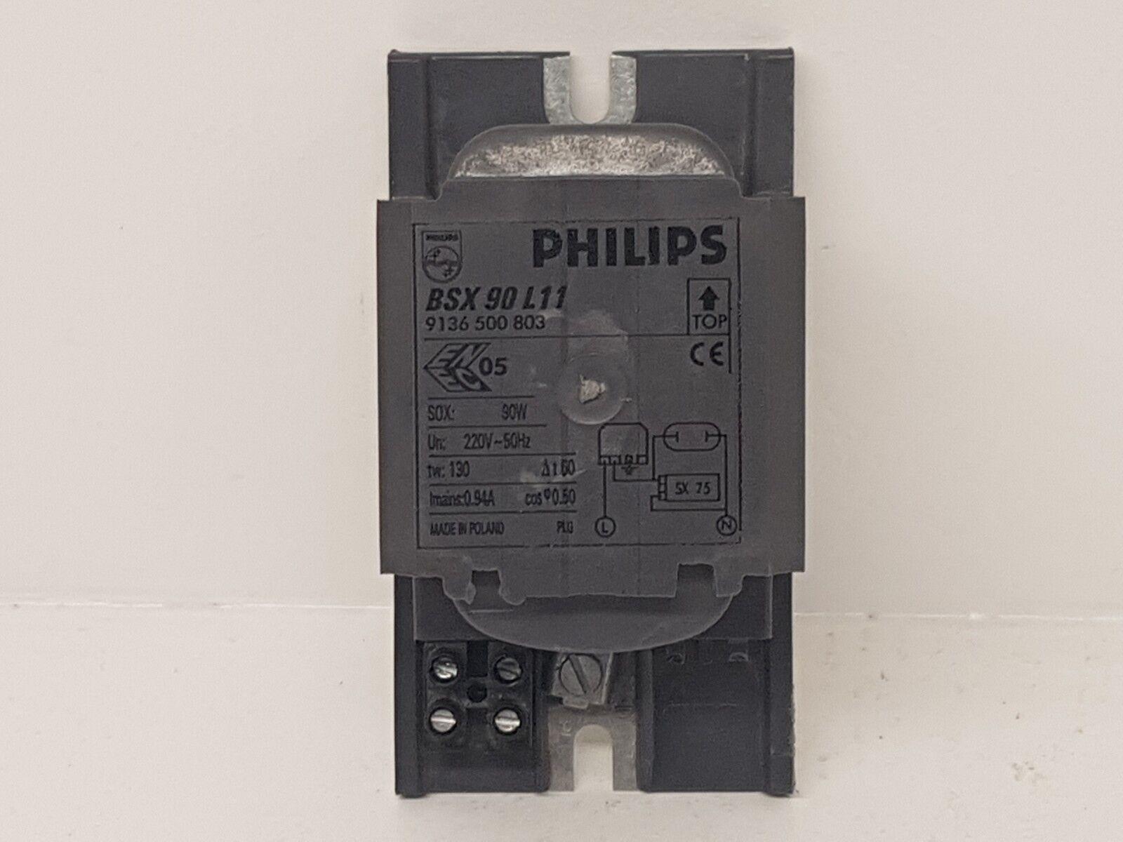 PHILIPS BSX 90 L11 HID heavy duty lastre para SOX 90W bombilla lámparas 9136 500