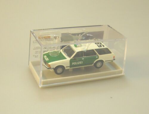 "Ford Granada II Torneo policía hamburgo Peter carro /""585/"" hh-7149 Brekina 1:87"