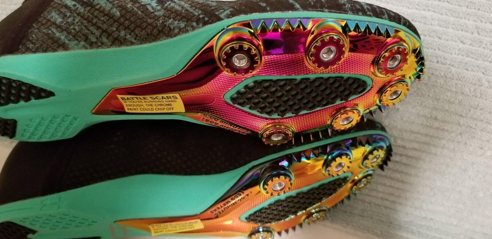 NWOT Rare Under Armour Armour Armour Speedform Miler Pro Spiked Track scarpe 1266204-299 Uomo 10 edb8ea