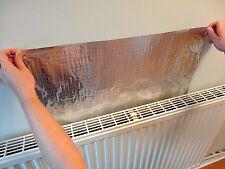 Mangiatoie 4m Riflettente Lamina RADIATORE riflette il calore in alluminio argento