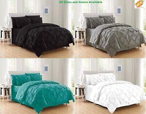 Pintuck-Duvet-Cover-Bedding-Set-Twin-Full-Queen-King-Cal-King-3-Piece-2-Piece