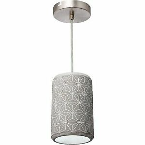Varaluz 211m01b Pottery Single Light 6 1 4 Wide Mini Pendant With A Cer
