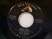 "ELVIS PRESLEY ""(LET ME BE YOUR) TEDDY BEAR / LOVING YOU"" 45"