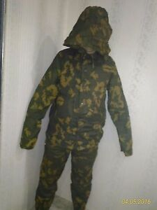 Light-coloured-Russian-Soviet-Army-KZS-Camo-Meshy-Suit-Berezka-2-size-Set